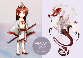 ABALON - Character Auction OVER by Sapphu-Adopts