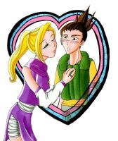 Ino and Shika love by RoroZoro