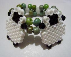 Sheepy Bracelet! by cadillacphunque