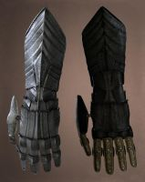 Ornamented Gauntlets by Samize