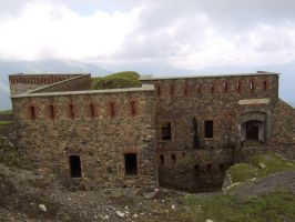 Fort Pepin (2284m) by FraterSINISTER