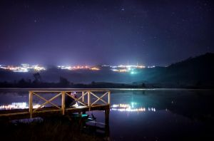 Rattanai Reservoir by palmbook