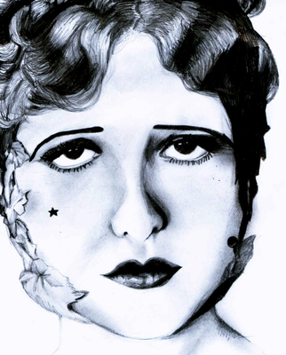 Clara Bow by starkissed