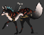 Wolf auction/CLOSED by BlackLightning95