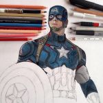 Captain America WIP 2 by Steve-Nice