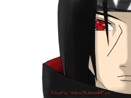 Itachi colored by SabakunoPA