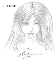 Free Headshot 5: Celeste by kaiverta
