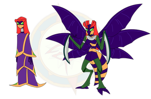 Demon Insect Starfire by Dragon-FangX