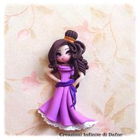 #megara #disney #hercules #clay #handmade by AngelaDafne