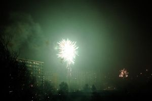 New Year's Eve Fire Works by rpfaas