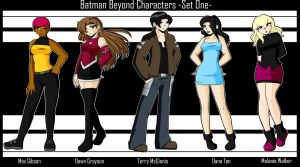 .:BB Characters Set One:. by Dawnrie