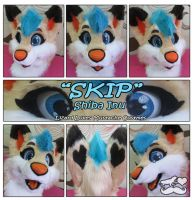 Skip-Fursuit Head by TheGreenCoyote
