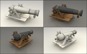 Siege Cannon by cr8g