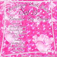 Set 25 - Arranged With Love by pange