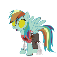 Rainbow Dash - Spectral Halloween Special by Avastindy