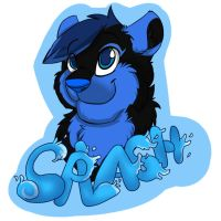 Splash Badge AT by Felixcani