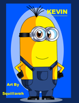 Despicable Me - Kevin by Squillarah