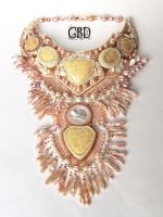 Sand Castle necklace by gbdreams