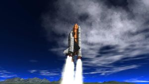 KSP -  STS-1 The first space shuttle by Velociraptor34