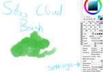 Sillie's Cloud Brush in SAI by choco-kay