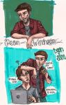 Sam and Dean by mox-ie