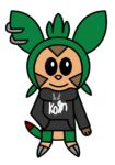 Diego the Chespin by aabarro13