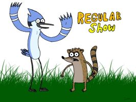 Regular Show Is Not So Regular by DirtySeagulls