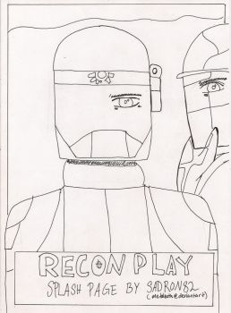 Recon Play Splash Page by MetaLeath