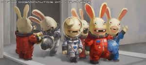 Cosmonauts by Windmaker