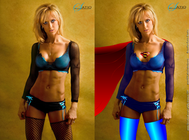 Supergirl Gennifer Strobo by zenx007