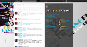 Twitter Layout - Big Bang v2 by chibimisao
