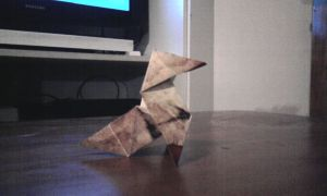 my Heavy Rain Origami by GrimLink
