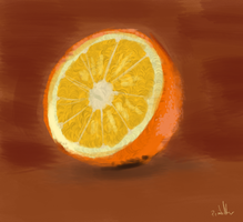 Simple Orange by Smoppet