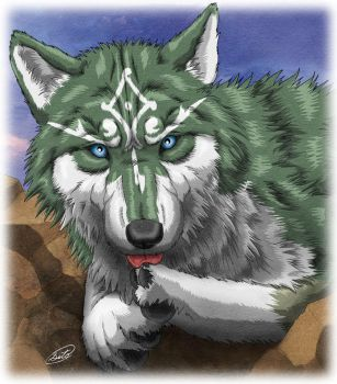 Link Wolf by SheltieWolf