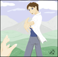 Take My Hand - Colored by jacquelynfisher
