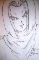 Dragonball z - Android 17 ( Unfinished ) by nial-09