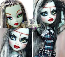 MH 17inch Frankie repaint #1 ~Frances~ by RogueLively