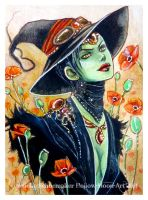 Elphaba Wicked by Hollow-Moon-Art
