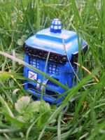 Doctor Who's Tardis Tin by cashewed-almonds