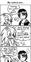 A very CRAPTASTIC comic by ojamajodoremidokkan
