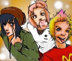 .Team Seven Silliness. by BlissfulGold