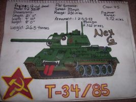 Tanksona T-34 Finished by MEC518