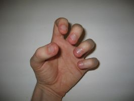 Hand Pose 8 of 22 - stock by aphasia100stock