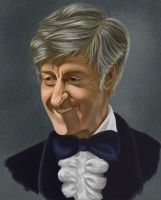 the Third Doctor by Resident-Bishounen