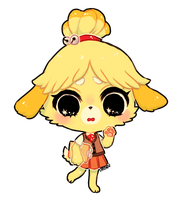 ACNL -- Isabelle (+spdpaint) by onisuu