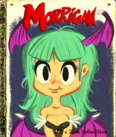 Morrigan's Little Golden Book by luismario
