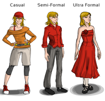 Rosemary Maker: Add'l Outfits by GeoCaecias