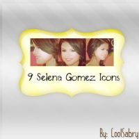 Selena Gomez Icons by CoolSabry