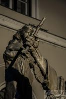 The shadow of the crucifix by 5haman0id