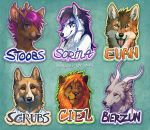 Badges round 2 by Lhuin